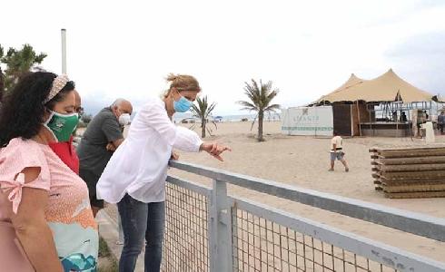 Las playas de Castelló ultiman sus servicios para afrontar el verano como atractivo turístico