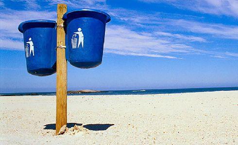 Las playas españolas aprueban en limpieza de residuos
