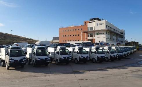 Limasa incorpora a su flota 20 vehículos ligeros