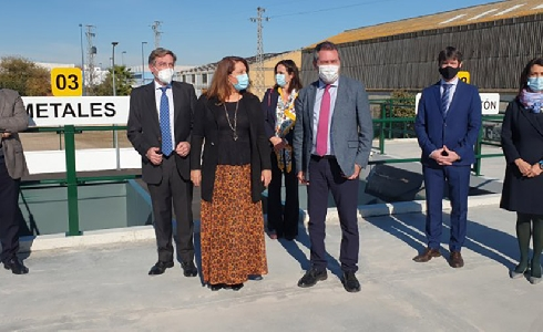 Lipasam incorpora un quinto punto limpio a la red municipal de la ciudad de Sevilla