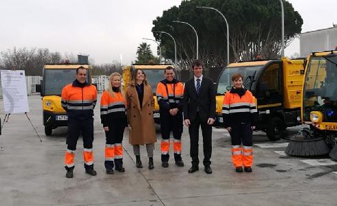 Lipasam refuerza el servicio de limpieza de Sevilla con la incorporación de nuevos vehículos