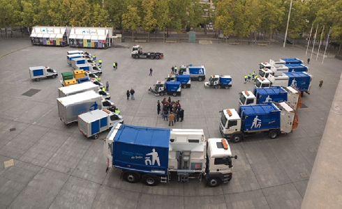 Logroño renueva el contrato de limpieza y recogida de residuos e incorpora nuevos equipos