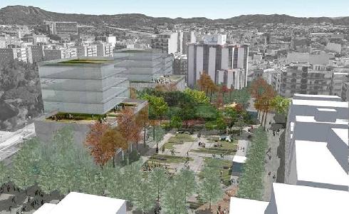 Luz verde a la reordenación de la plaza José Barangé de Granollers