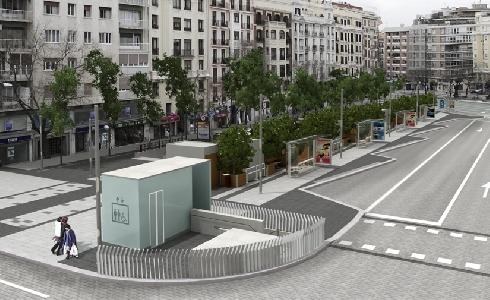 Madrid da luz verde a la reforma del área intermodal de la avenida de Felipe II