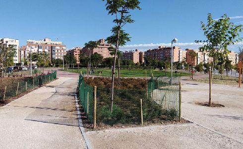 Madrid finaliza las obras del parque Infanta Catalina Micaela de Sanchinarro