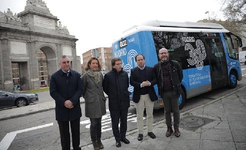 Madrid pone en servicio su segunda línea gratuita de autobús cero emisiones