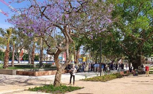 Málaga cuenta con un nuevo parque de más de 30.000 metros cuadrados en la Barriada de Martiricos