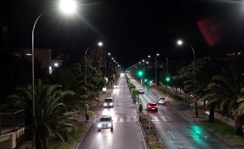Málaga mejora la calidad del alumbrado con la instalación de 8.866 luminarias LED