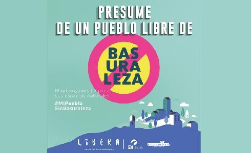 Más de 300 municipios ya se han adherido a la campaña de LIBERA #MiPuebloSinBasuraleza