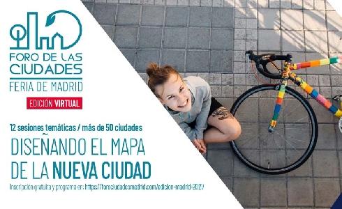 Más de mil personas asisten a la cuarta edición del FORO DE LAS CIUDADES DE MADRID 2021