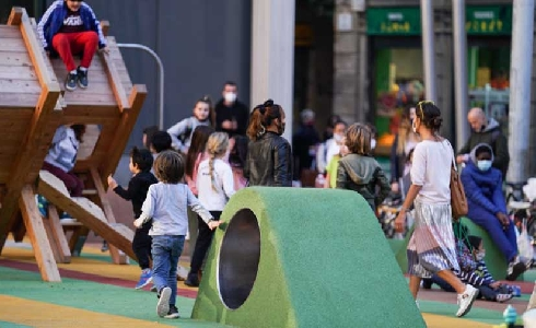 Más espacio para el vecindario con la transformación de la plaza de Sant Miquel de Barcelona
