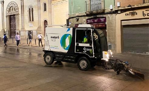Mataró sigue apostando por FCC Medio Ambiente para gestión de los servicios urbanos
