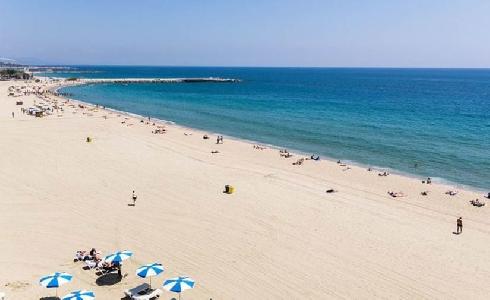 Medidas para regular el aforo en las playas de Barcelona durante la fase 2