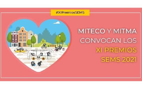 MITECO y MITMA convocan conjuntamente los XI Premios de la Semana Española de la Movilidad Sostenible