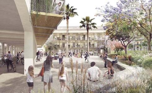 'Model, batega!', la propuesta ganadora del concurso para la transformación de la cárcel Modelo de Barcelona