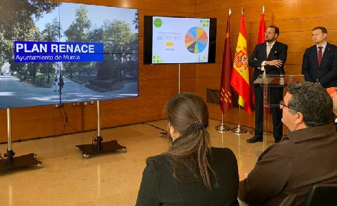 Murcia destinará 1,3 millones de euros a mejorar diez parques y jardines a través del 'Plan Renace'