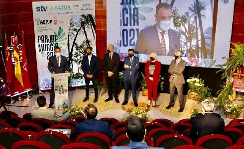 Murcia se convierte en capital del verde urbano con el arranque del congreso PARJAP 2021