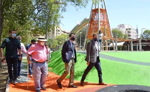 Murcia estrena el Jardín de la Fama con dos zonas infantiles de 1.000 m2