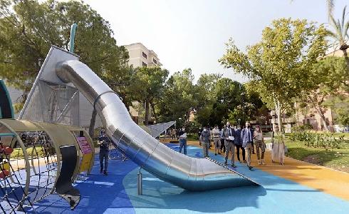 Murcia estrena nuevo eje verde peatonal con la inauguración de Los jardines del Oeste