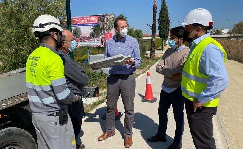 Murcia Río estrena un nuevo alumbrado Smart que funciona con energía solar y mejora la seguridad de los viandantes