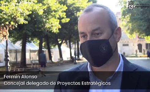 Navarra licita por más de 10 millones las obras que renovarán 22.000 m2 y extenderán el ámbito peatonal