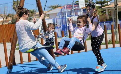 Nueva área de juegos HAGS en la Ciudad de Alcúdia