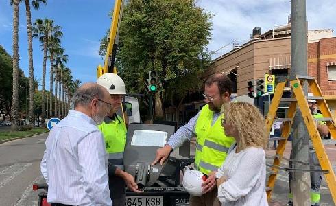 Nuevas luminarias de bajo consumo en Murcia