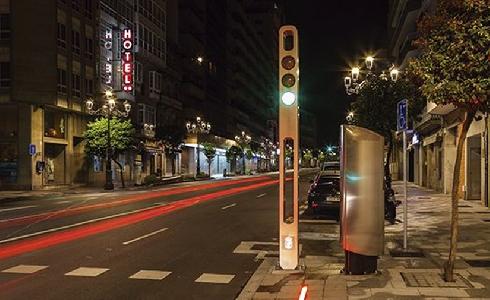 Nuevo mobiliario sostenible de Edigal en dos de las principales calles de Vigo