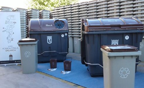 Ocho distritos de Madrid se suman a la recogida selectiva de residuos orgánicos