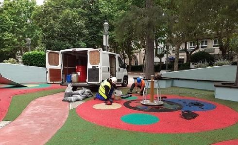 Ourense llevará a cabo una renovación integral de las áreas de juegos infantiles de la ciudad