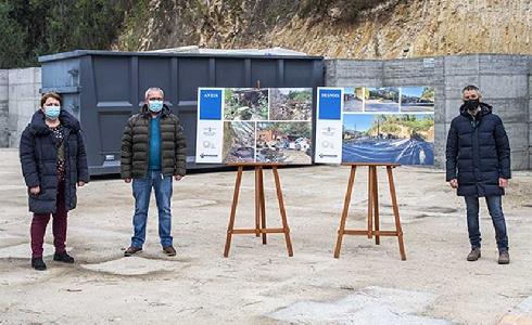 Ourense pone en marcha una experiencia piloto en Ribadavia para potenciar la recogida de residuos voluminosos