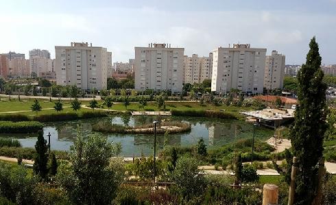 Parque de La Marjal, ejemplo de infraestructura verde urbana