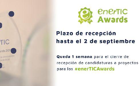 Pocos días para el cierre de candidaturas para los enerTIC Awards