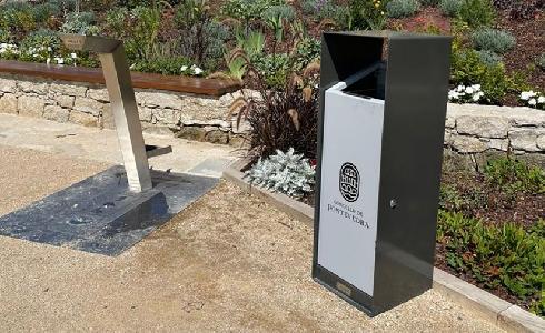 Pontevedra incorpora mobiliario innovador y sostenible en su nuevo campo de petanca