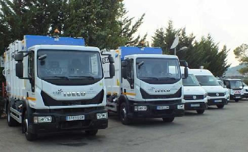 Presentación de los vehículos del nuevo servicio comarcal de recogida de de la Conca de Barberà