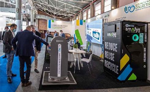 Presentado en Municipalia un sistema de gestión de residuos que permite alcanzar las tasas de reciclaje fijadas por Europa