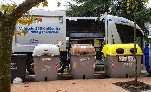 Presentado en Sasieta, Gipuzkoa, el nuevo camión de recogida de residuos eléctrico desarrollado por FCC