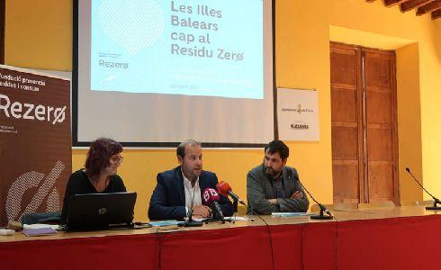 Presentado un estudio con propuestas para avanzar hacia el residuo cero en Baleares