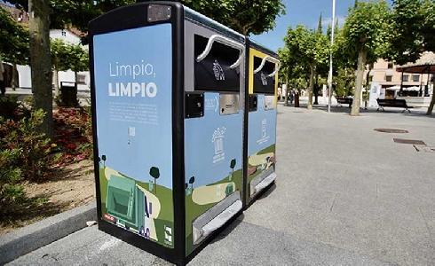 Proyecto piloto de papeleras inteligentes en varios puntos del municipio de Las Rozas de Madrid