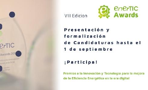enerTIC Awards 2020: El 1 de septiembre finaliza el plazo para la recepción de casos de éxito en eficiencia energética