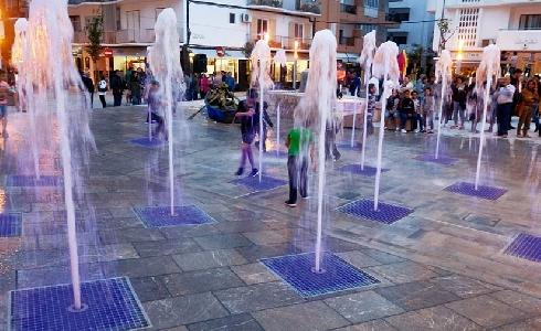 Rehabilitación de la fuente de la Plaza Isidord Macabich en Ibiza