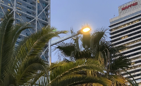 Remodelación lumínica del barrio de la Barceloneta