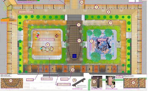 Salamanca aprueba el proyecto para la reforma de la Plaza de Barcelona
