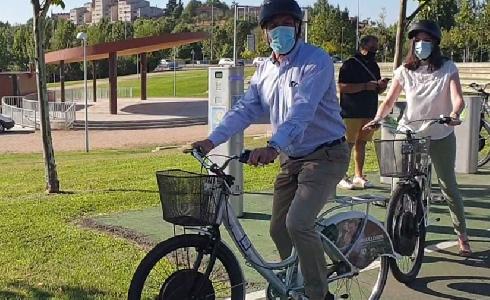 Salamanca habilita las primeras bicicletas eléctricas del servicio de préstamo 'SALenBICI'