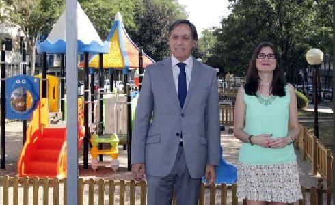 Salamanca renueva la zona de juegos infantiles, jardines y accesibilidad del bulevar de La Milagrosa