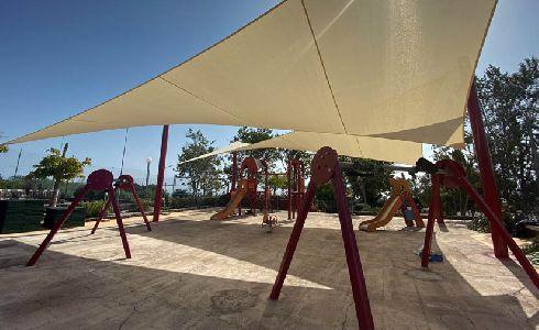 San Sebastián de la Gomera finaliza las actuaciones municipales de Tecina con la remodelación del parque infantil