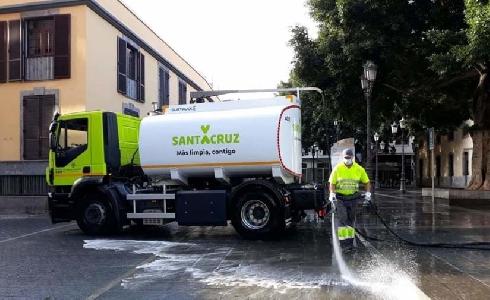 Santa Cruz de Tenerife contará con una nueva ordenanza de recogida de residuos y limpieza en 2021