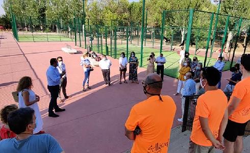 Santa Marta finaliza las obras de la gran zona deportiva de Valdelagua, Aldebarán,  Átika y Villas