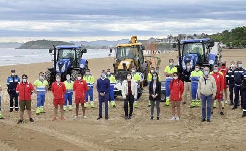 Santander controlará el aforo de las playas con personal en los accesos delimitados
