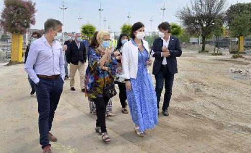 Santander mejora el parque en el Barrio Pesquero